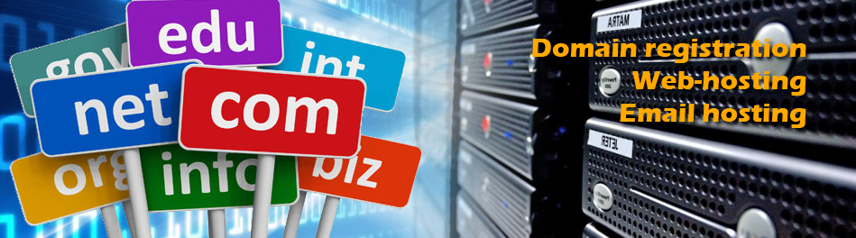 Domain Registration & Web hosting