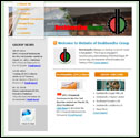 Website of Deshbandhu Group, developed by ULTERIOUS